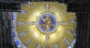 Јединствен у свету: Завршен мозаик у Храму Светог Саве (фото)