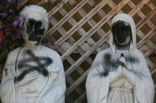 Антихришћански вандализам у Белој демонији ака Европи достиже врхунац