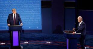 У првом тв-дуелу Трамп демолирао Бајдена