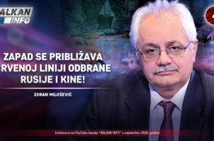 ИНТЕРВЈУ: Зоран Милошевић - Запад се приближава црвеној линији одбране Русије и Kине! (видео)