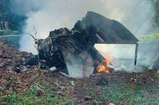 """Погинула оба пилота """"мига 21"""" који је данас пао у рејону села Брасина код Малог Зворника (фото, видео)"""