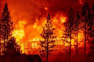Хаос на Лезбосу – изгорео највећи мигрантски камп у Европи, мигранти лутају острвом (видео)