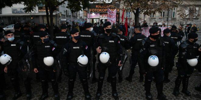 Титов бољшевички подмладак у одбрани мигрантских банди које харају по Београду и тероришу локално становништво
