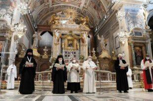 Ексклузивно: У Ватикану одржана екуменистичка црна миса