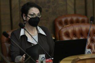 Бабу са брковима Гордану Чомић су довели да заврши посао око легализације хомосексуалних бракова