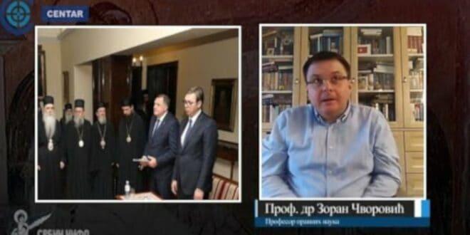 Професор Чворовић открио све о избору новог патријарха: Ево шта спрема Вучић (видео)