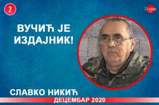 ИНТЕРВЈУ: Славко Никић - Вучић је издајник! (видео)
