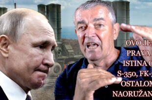 ЗАТАШKАНА ТАЈНА ВС - Генерал Делић открива шта се десило са наоружањем које су нам давали Руси!?