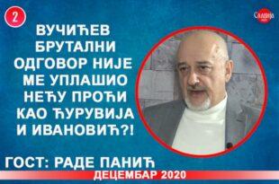 ИНТЕРВЈУ: Раде Панић - Вучићев брутални одговор није ме уплашио нећу проћи као Ћурувија! (видео)
