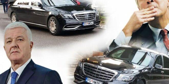 ШАМАР ЂУКАНОВИЋУ: Нова власт му узима МАЈБАХ од 650.000 евра!