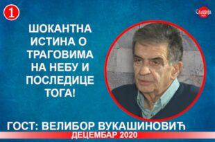 ИНТЕРВЈУ: Велибор Вукашиновић - Шокантна истина о траговима на небу и последице тога! (видео)
