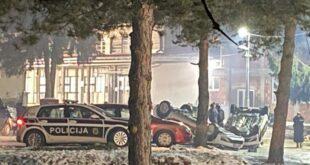 Хаос у Сарајеву: Мигранти направили хаос, тукли полицију због вређања пророка Мухамеда (видео)