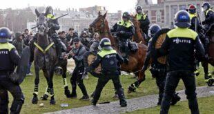 ХОЛАНЂАНИ устали због корона диктатуре, полиција употребила водене топове (видео)