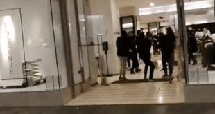 МИГРАНТИ ДИВЉАЛИ У БЕОГРАДУ: Напали и тукли раднике обезбеђења и опљачкали бутик у центру Београда (видео)