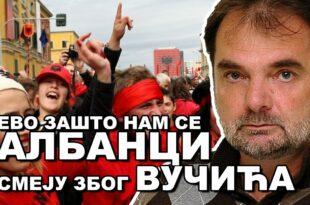 Александар Ђикић: Не дајте да вас власт плаши Албанцима, они нису више оно што су били! (видео)