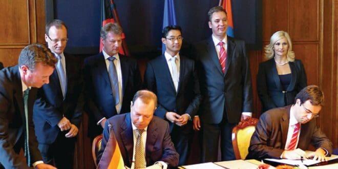 Подсећање: 10. септембра 2012. Берлин - Потписан меморандум о разумевању и сарадњи у области енергетике