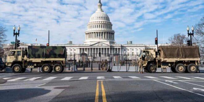 Америчка скупштина као војна база, инсталација нове администрације уз помоћ пет бригада резервиста (видео)