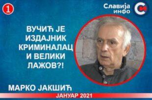 ИНТЕРВЈУ: Марко Јакшић - Вучић је издајник, криминалац и велики лажов?! (видео)