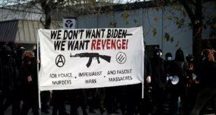 """""""Нећемо Бајдена – хоћемо освету!"""" Хаос и разбијено седиште демократа – """"честитка"""" Антифе (видео)"""