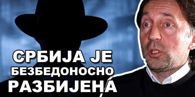 Горан Пајић: Српска обавештајна служба је у колапсу, Хрвати и Немци су свуда! (видео)