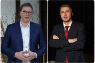 Суд наложио Александру Вучићу да исплати одштету јер је Бошка Обрадовића називао лоповом и фашистом