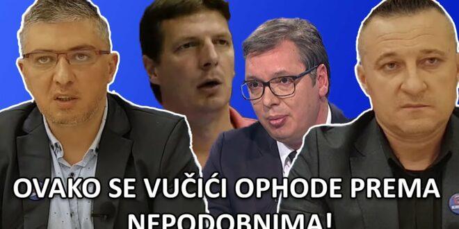 ДУМАНОВИЋ: Вучићу, чека те ћелија! ГИГИЋ: Истина о пребијању Андреја Вучића и Малог! (видео)