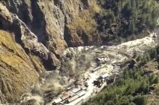 Индија: Одломио се део глечера и срушио брану, страхује се да у локалним селима има преко 150 мртвих (видео)