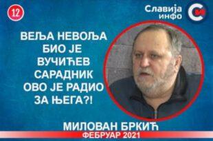 ИНТЕРВЈУ: Милован Бркић - Веља Невоља био је Вучићев сарадник, ово је радио за њега! (видео)
