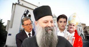 """""""Доста је Порфирије, СПЦ да буде уз народ, не уз корумпиране политичаре и мафију"""""""