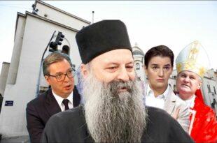 Светски медији јављају да је СПЦ за патријарха изабрала режимског полтрона