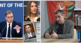 ПРЕДРАГ ПОПОВИЋ открио зашто Вучић не сме да ухапси Хркаловићку и Стефановића (видео)
