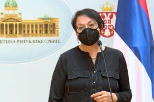 Забрњичена госпоџа министарка да нам говоре о људским правима држи из Грачанице и Призрена!