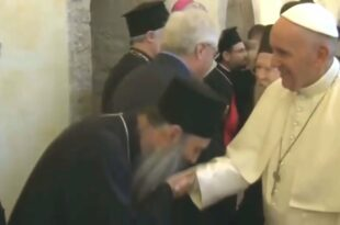 Свети Саво опрости, а ти ПАПОЉУБАЦ следећи пут кад сретнеш папу у дупе га пољуби! Из личних разлога наравно...