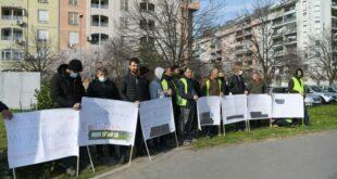 Дугују им плате: Штрајк турских радника у Београду на води!
