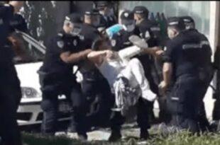 Полиција по налогу извршитеља избацила из куће породицу ратног хероја са Кошара (видео)