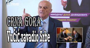 Давидовић: Вучић стоји иза атентата на мене и владику Јоаникија! (видео)