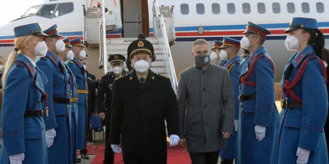 Београд: Кинески министар одбране допутовао у тродневну посету Србији