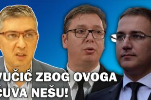 Думановић: Небојша Стефановић има ове доказе против Вучића, због тога Вучић не сме да га процесуира! (видео)