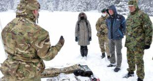 На Копаонику се одржава заједничка обука припадника Војне академије и војске Велике Британије