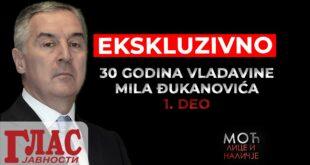 KРВ СУЗЕ И ЗНОЈ! 1. епизода серијала о 30 година апсолутне владавине Мила Ђукановића (видео)