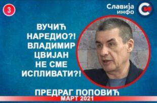ИНТЕРВЈУ: Предраг Поповић - Вучић наредио?! Владимир Цвијан не сме испливати?! (видео)