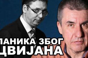 Предраг Поповић o случају Цвијан: Вучића сад спасава само ћутање опозиције! (видео)