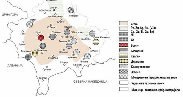 Kосовски рудници и седам стратешких руда вреде преко 1.000 милијарди долара