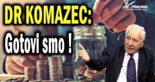 Др Комазец: Србија је дужна 42,3 милијарде евра, радићемо од сада само за камате! (видео)