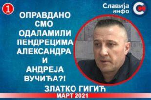 ИНТЕРВЈУ: Златко Гигић - Оправдано смо одаламили пендрецима Александра и Андреја Вучића?! (видео)