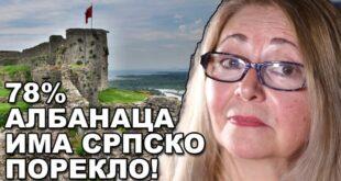 Биљана Живковић: Албанија је древна српска земља! (видео)