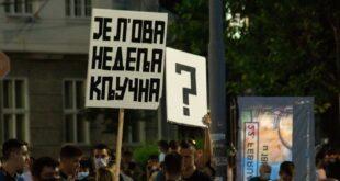 Велики народни протест у Београду: Стоп хапшењима, укините ИЛЕГАЛНИ Кризни штаб!