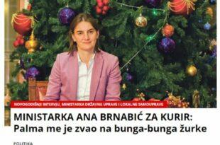 Палма организовао бунга-бунга журке, позвао и Брнабић