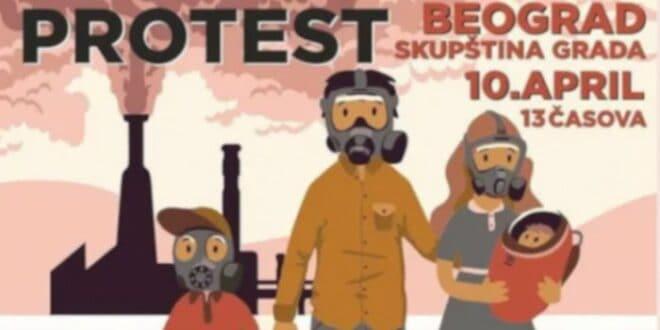 СВИ НА ПРОТЕСТ 10. априла испред Скупштине да нас не би потровали као пацове! (видео)