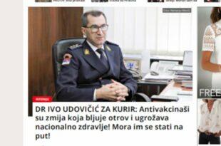 Кривична пријава против пуковника Иве Удовчића због почињеног кривичног дела дискриминације грађана Републике Србије